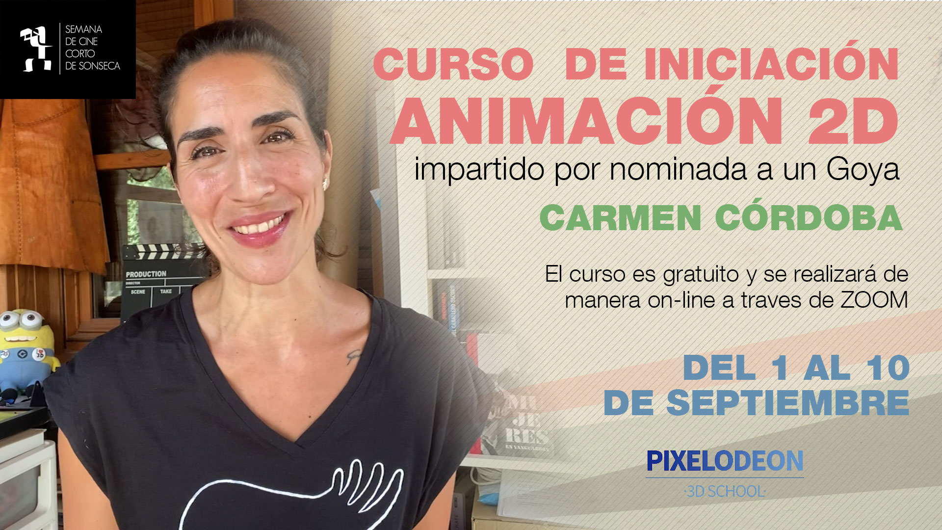Curso de animación de Carmen Códoba