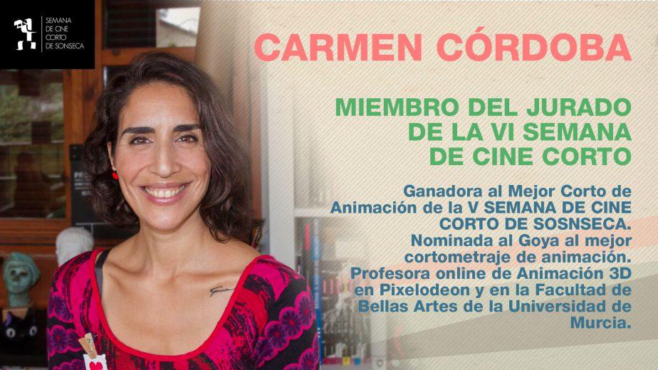 Carmen Códoba miembro del jurado.